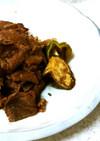♥牛肉の甘酢炒め&タマネギと卵の味噌汁♪