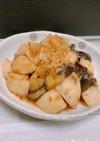 《時短・簡単》山芋とナスの炒め物