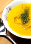 畑で収穫 ミニカボチャのスープ