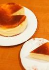 ニューヨーク風スフレチーズケーキ