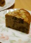 乾パン消費!シナモン風味のパンプティング