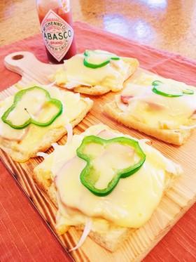 【ロカボ】お揚げのダイエット☆マヨピザ