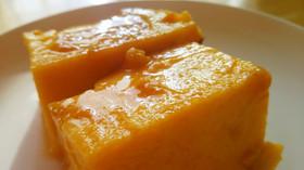 耐熱皿で作る簡単で濃厚なかぼちゃプリン