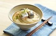 サバ水煮のっけ素麺の写真