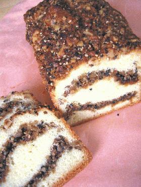◆ゴマとくるみのパウンドケーキ◆