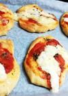 低糖質 マルゲリータ風ピザパン
