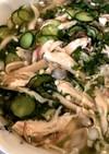 サラダチキンを使った超簡単冷や汁