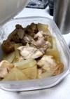 レンジで簡単作り置き鶏モモのバタポン煮