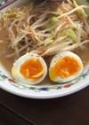 レンジで簡単 半熟卵