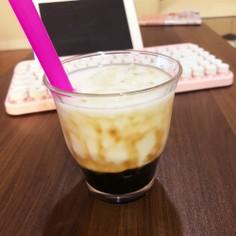 コンロひとつで♡黒糖タピオカミルク