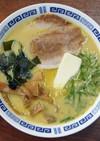 青森で食べた味噌カレー牛乳ラーメン