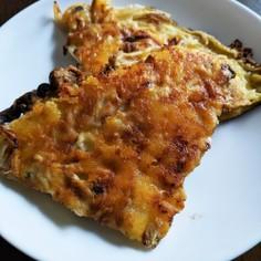 簡単♪キノコと玉ねぎのチーズ焼き
