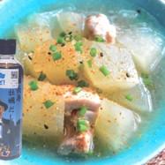 長寿牡蠣だしの冬瓜と鶏肉の煮込み