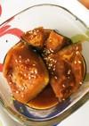 レンジで7分冷凍かぼちゃの煮物