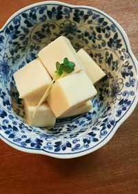 高野豆腐 含め煮 白だし 甘さ控目