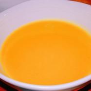 ブロッコリーの茎でかぼちゃスープ