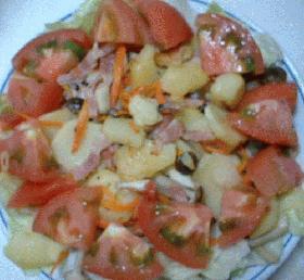 ヘルシーガーリックサラダ