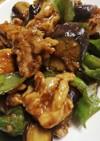 簡単レシピ♪茄子とピーマンの肉味噌炒め