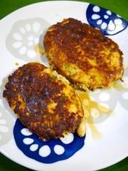 糖質制限!大豆とおからのポークハンバーグの写真