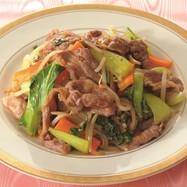 牛肉の中華野菜炒め