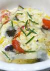 プチトマトとタコのイタリアンチーズ焼き