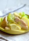 鶏肉の塩麹蒸しレモンキャベツ和え作り置き