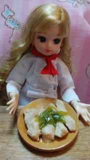 リカちゃん♡SNSで発見‼鶏むねの甘酢煮の写真