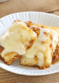 しょうゆ麹で甘辛チーズの豆腐ステーキ