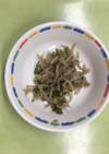 【保育園給食】ゴーヤとジャコの佃煮