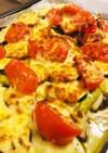 チーズとお野菜のオーブン焼き