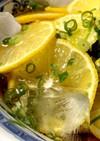 夏にピッタリ さっぱり レモンうどん