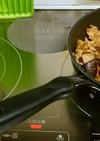 ♪豚肉と茄子炒め&ネギ味噌汁♪