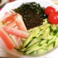 こんにゃく麺でダイエット①冷やし中華