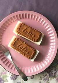 レアチーズケーキサンド☆ロータス