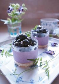 ♪ブルーベリームースケーキ♪