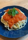 トマトの冷製パスタ
