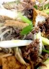 牛肉のすき煮 鍋ごと大皿料理