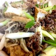 牛肉のすき煮 カサ増し 保存可能