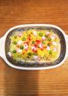 鯖缶を使った母のばら寿司