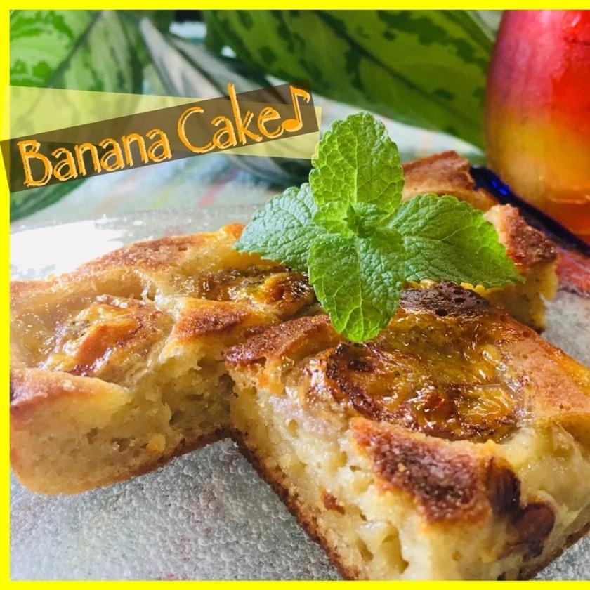 バナナケーキ バナナ大量消費