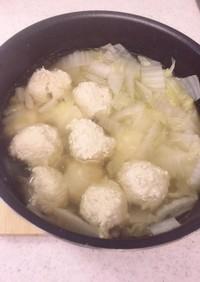 糖質制限 鶏団子鍋