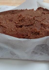 ひよこ豆チョコクリームケーキ