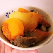 根菜とキノコと牛肉のラタトゥイユ⭐