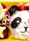 簡単キャラ弁当☆パンダ☆パート1
