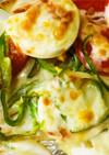 ♪市販ピザ生地で簡単な鶏ハムピザ 第2段