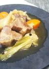 豚肉と野菜の大人なビール煮