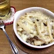 長芋と牛肉のシャキとろチーズ焼き