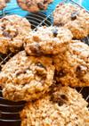 砂糖不使用オートミールレーズンクッキー