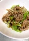 万能調味料「スタミナ源」☆肉野菜炒め