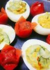 ゆで卵サラダ